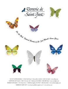 St. Just Stained Glass Ad