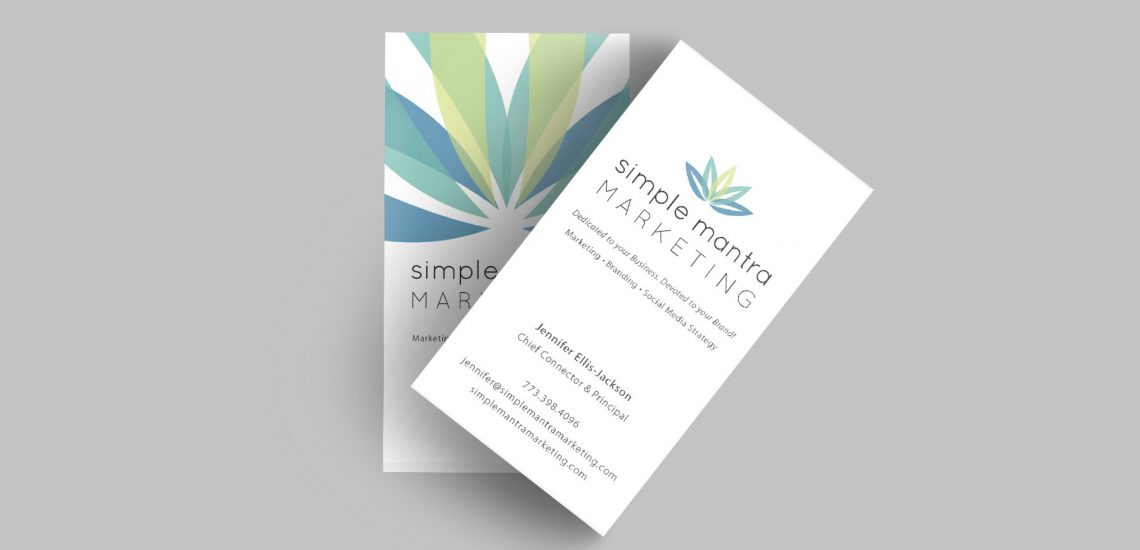Simple Mantra Business Card