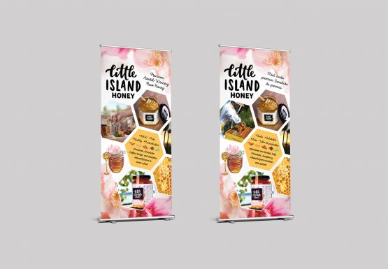 Little Island Honey Banner