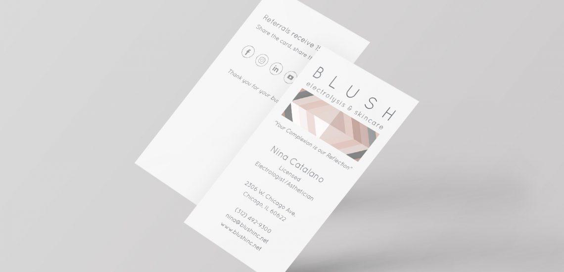 Blush Business Cards