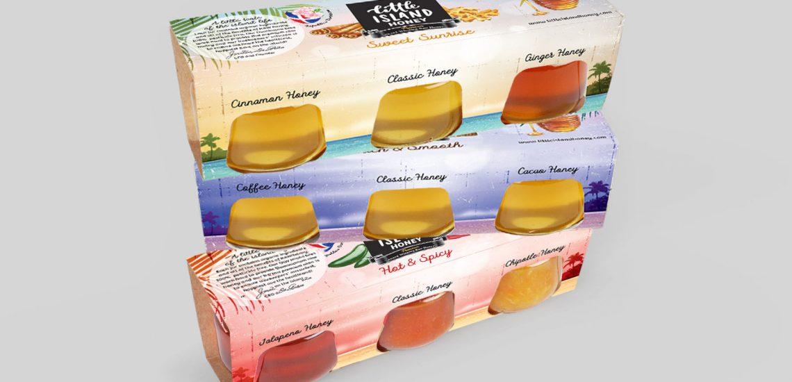 Honey Sample Packaging