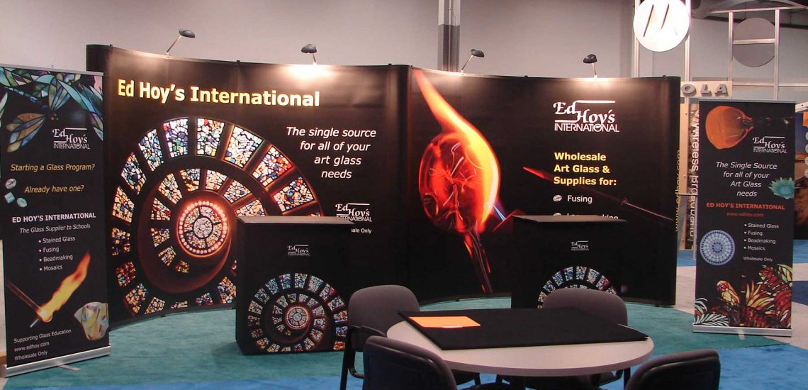 Ed Hoy's International Trade Show with table