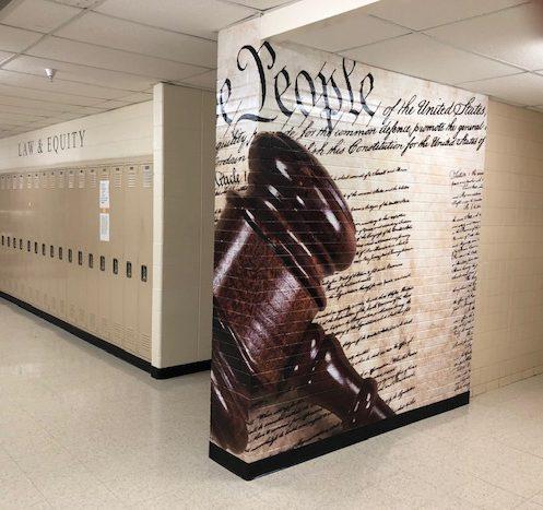 Constitution School Signage