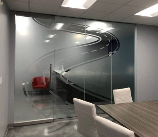Glass Meeting Room Signage